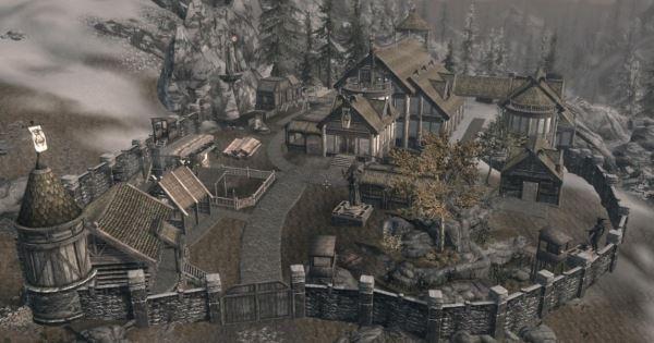 Стена Хельярхен-холла - Wall Helyarhen-Hall v 2.4 Beta для TES V: Skyrim