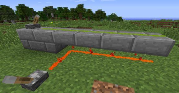 Redstone Paste для Майнкрафт 1.8.9