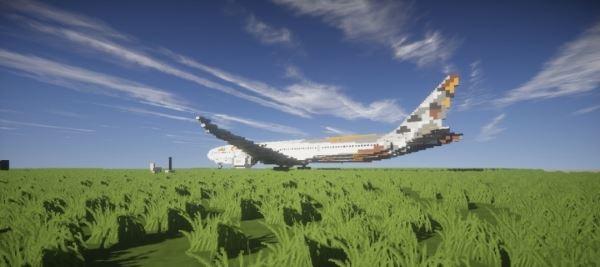 Boeing 777-300ER для Майнкрафт 1.8.9