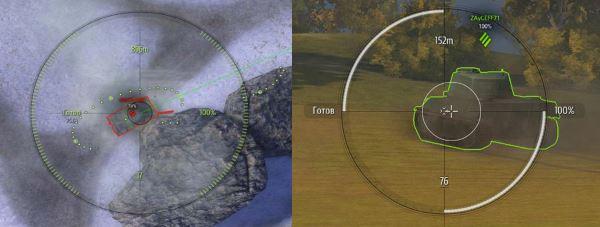 Белые прицелы CircleCross NEW для World of Tanks 0.9.16