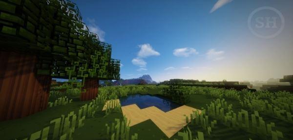 Simplistic Heaven для Майнкрафт 1.8.8