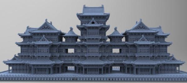 Chinese Ancient Architecture 3 для Майнкрафт 1.8.8