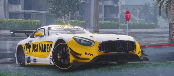 Mercedes-Benz AMG 2016 GT3 для GTA 5