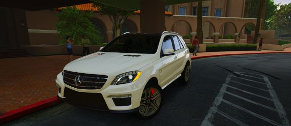 Mercedes-Benz ML63 для GTA 5