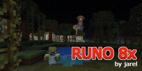 Runo8x для Майнкрафт 1.8.8