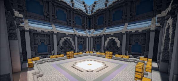 Frozen Prison Spawn для Minecraft 1.8.9