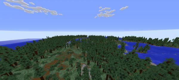 Realistic Terrain Generation для Minecraft 1.8.9