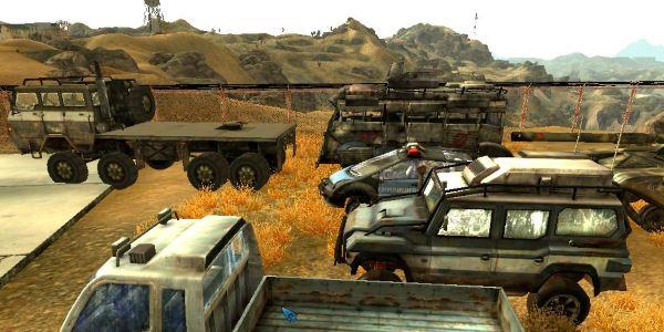 Battle Of Tanks + сборник авиа / автотехники для Fallout: New Vegas