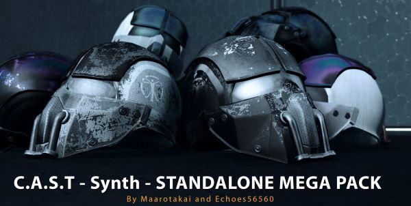 Броня и форма синтов (Мега набор новых текстур) для Fallout 4