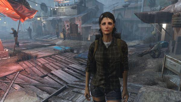 Обновленная Пайпер для Fallout 4