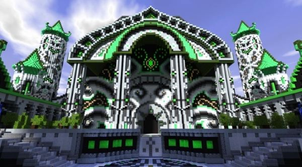 Almor Castle для Minecraft 1.8.8