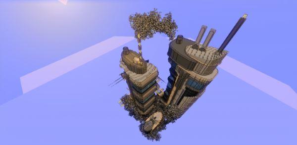 Futuristic tower для Minecraft 1.8.9