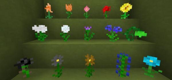 Flowercraft для Minecraft 1.8.9