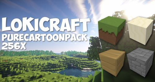 LoKiCraft PureCartoon для Minecraft 1.9