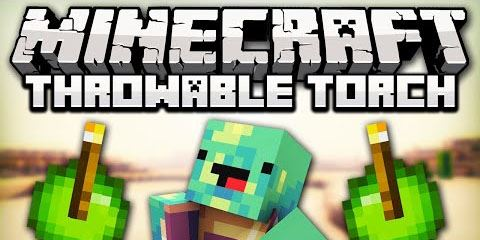 Throwable Torch для Minecraft 1.8.9