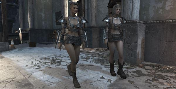Отдельная обувь для Fallout 4