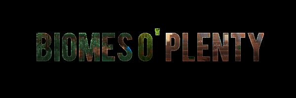 Biomes O' Plenty для Minecraft 1.8.9