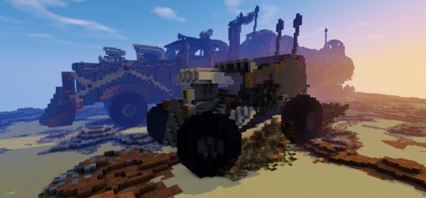 The War Rig для Minecraft 1.8.9
