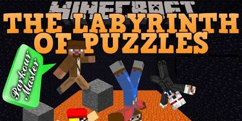 The Labyrinth of Puzzles для Minecraft 1.8.9