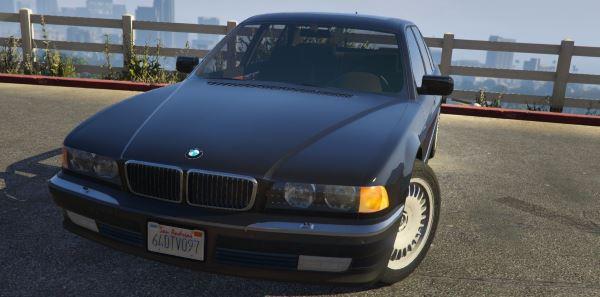BMW 750i (e38) для GTA 5