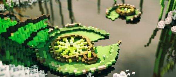 Tsukiyama Pond для Minecraft 1.8.8