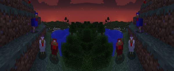 Attack Chickens для Minecraft 1.7.10