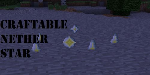 Craftable Nether Star для Minecraft 1.8.9