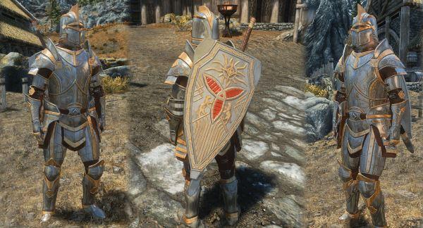 Броня и Артефакты Паладина / Paladin Armor Set and Artifacts для TES V: Skyrim