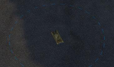 Круг 15 м. на земле (маскировка от кустов) для World of Tanks