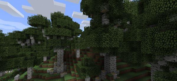 BigTrees для Minecraft 1.7.10