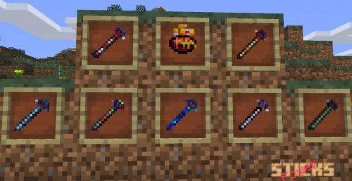 PowerSticks для Minecraft 1.7.10