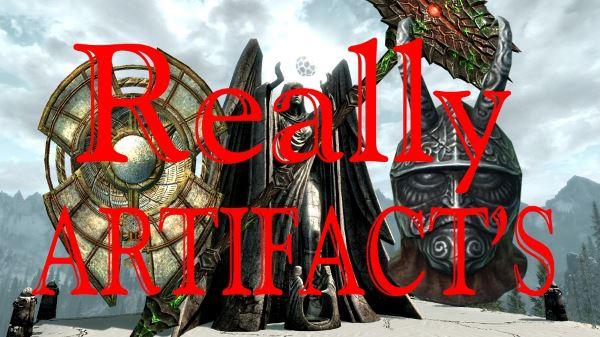 Really Artifacts для TES V: Skyrim