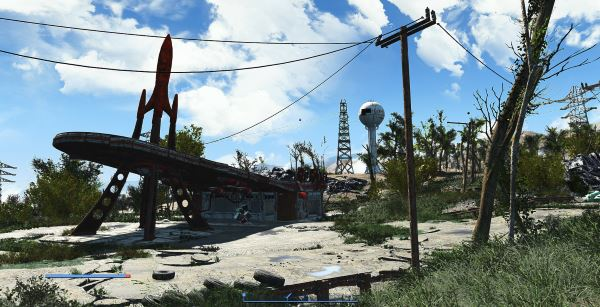 Transparent Vines - Прозрачная лоза для Fallout 4