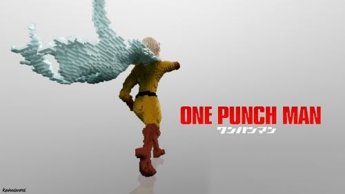 One Punch Man для Minecraft 1.8.9
