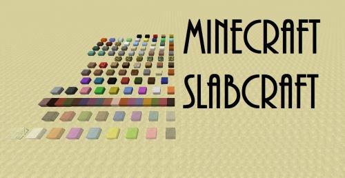 Slabcraft для Minecraft 1.8.9
