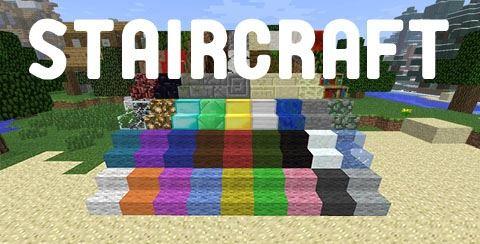 Staircraft для Minecraft 1.8.9