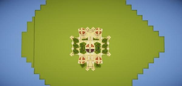 Collon Palace для Minecraft 1.8.9