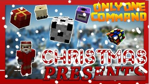 Christmas Presents для Minecraft 1.9