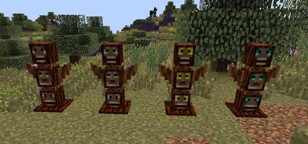 Totem Defender для Minecraft 1.8