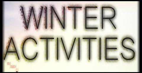 Winter Activities для Minecraft 1.8