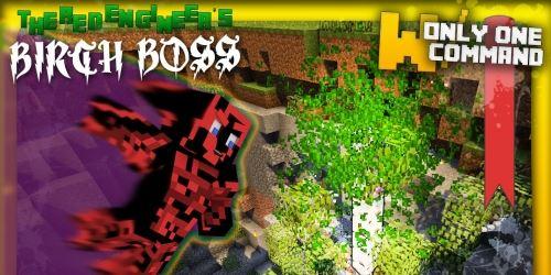 Birch Ent Boss для Minecraft 1.8.8
