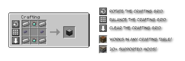 Crafting Tweaks для Minecraft 1.8.8
