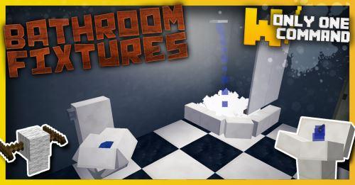Bathroom fixtures для Minecraft 1.9