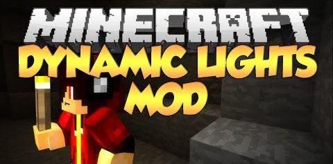 Dynamic Lights для Minecraft 1.8.8