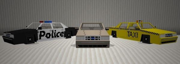 Spino's Vehicles для Minecraft 1.7.10