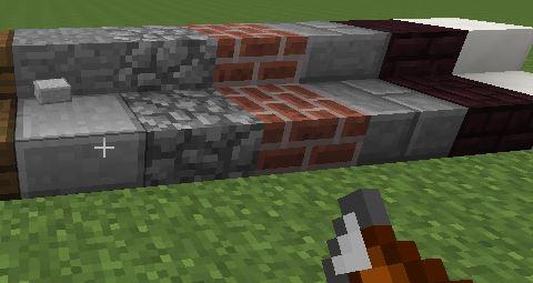 Slabify для Minecraft 1.7.10