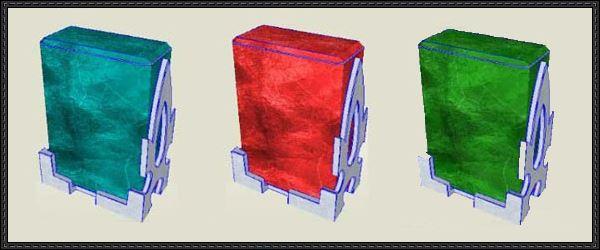 Кристаллы поддержки - Crystals support (SAO) для TES V: Skyrim