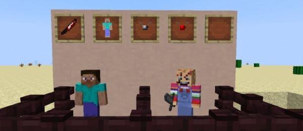 Chucky The Killer Doll для Minecraft 1.7.10