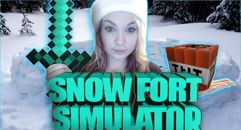Snow Fort Simulator для Minecraft 1.8.9