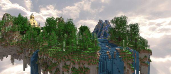 Paradise для Minecraft 1.9